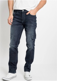 Elastsed klapptaskutega teksad (Slim Fit Straight)